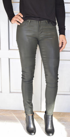 Women's Coated Skinny Jeans