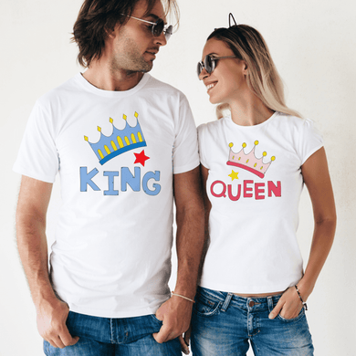 Couple King & Queen T-Shirt's