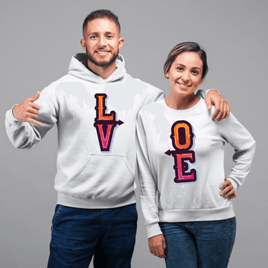 Couple LOVE Hoodie & Sweatshirt