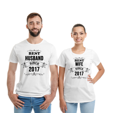 Best Husband Since 2017 T-Shirt's