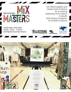 MIXMASTERS:  ART + FASHION for #WILLIESTRONG