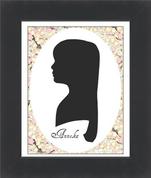 Silhouette Print Enlargement