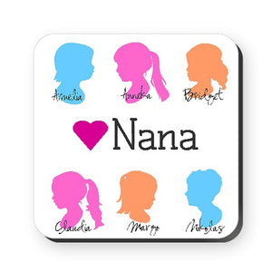 Silhouette Coasters (Set of 6)