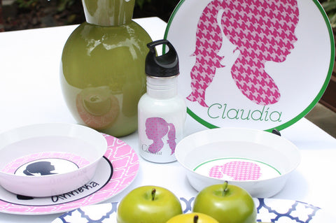 Silhouette Plate & Bowl Set
