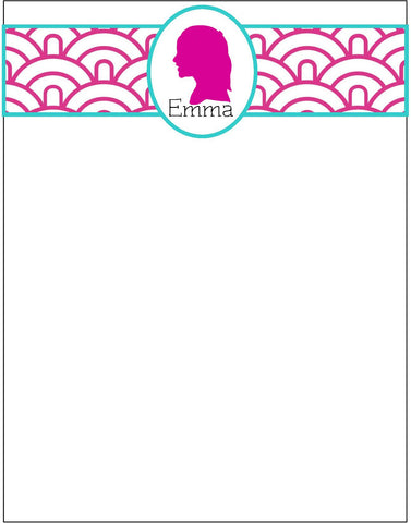 Silhouette Flat Note Cards (Set of 25)