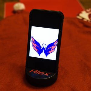 Custom Hockey Puck Cell Phone Holder