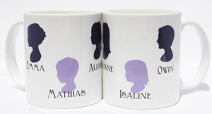 Silhouette Mug - Set of 2