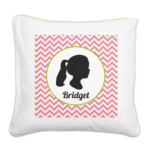 Silhouette Canvas Pillows - Set of 2