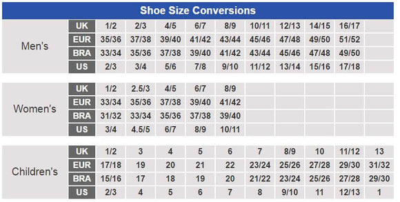 shoe size conversions uk our aus shoe shopping Monty Smith