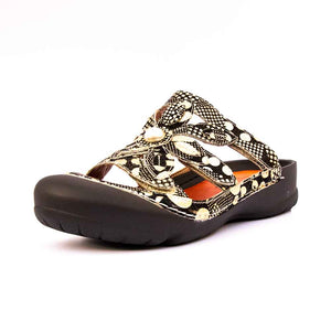 BIARRITZ Laura Vita Ladies Floral Patterned Mule.