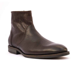 Sneaky Steve TALL Mens Brown Zip Side Boot