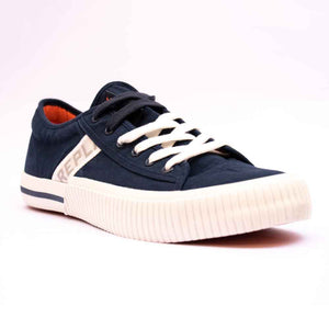 Replay KINARD Mens Navy Canvas Shoe