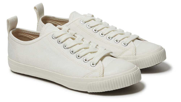 Komodo ECO SNEAKO Mens White Organic Cotton Sneakers.