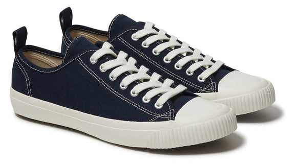 Komodo ECO SNEAKO Ladies Navy Organic Cotton Sneakers.