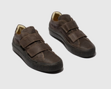 Fly London SEVU Mens Two Velcro Strap Casual Leather Shoes
