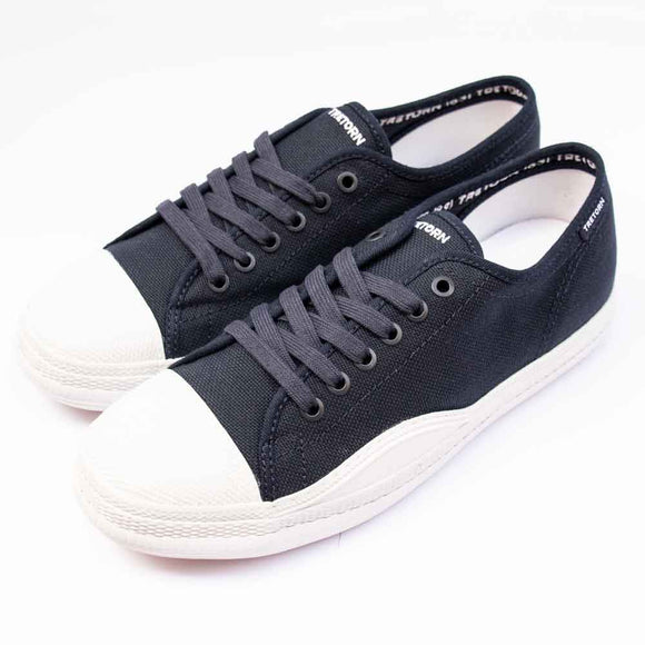 Tretorn RACKET Mens Navy Sustainable Canvas Shoe