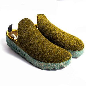 Asportuguesas COME Ladies Green Sustainable Shoes