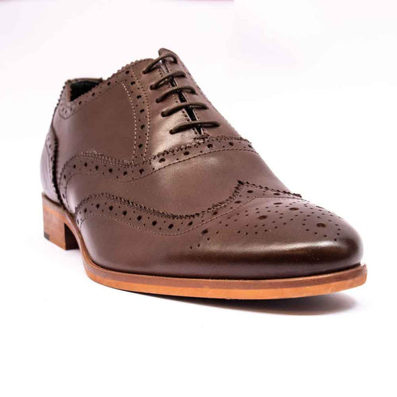 Paulo Vandini DARCY Mens Brown Brogue Shoe