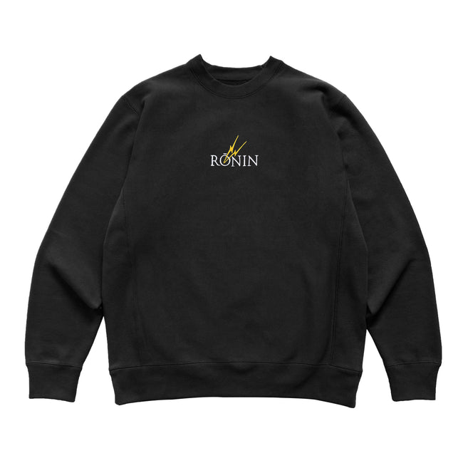 1st Form Crewneck - Black