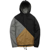 3 Tone Pullover Parka - Steel/Duck Brown/Black