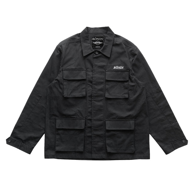 BDU Ripstop Shirt - Black
