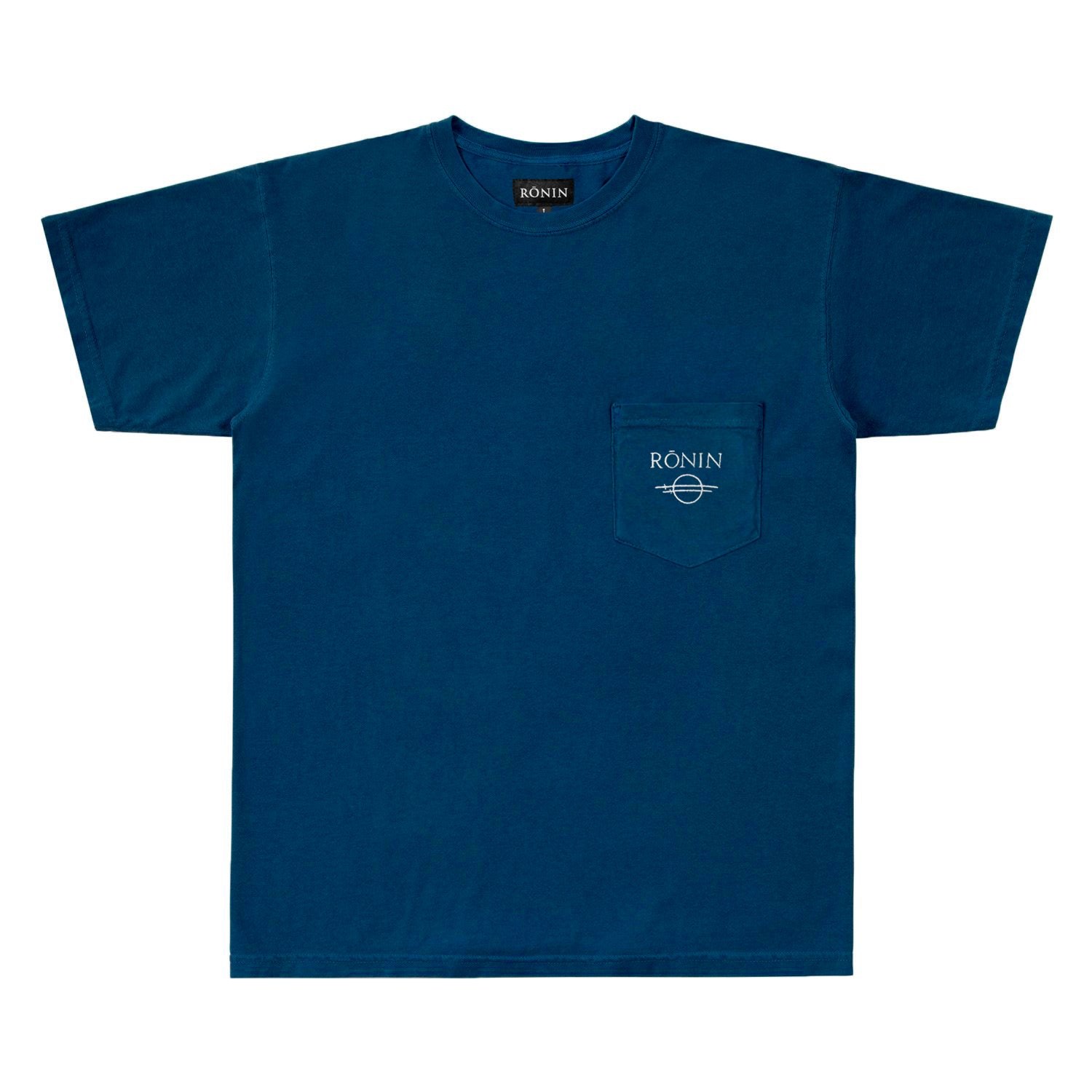 C&S Logo Pocket Tee - Deep Sea