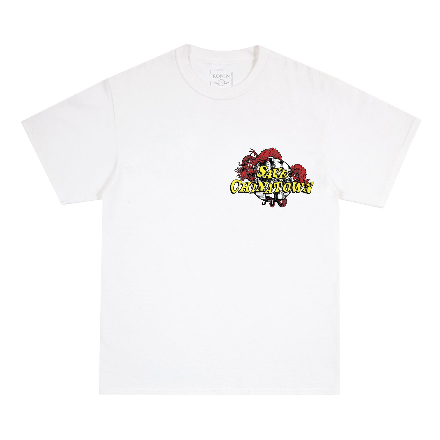 Save Chinatown Tee - White