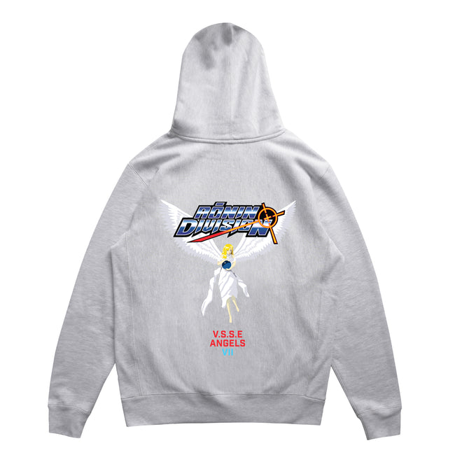Angels Hoodie - Heather Grey