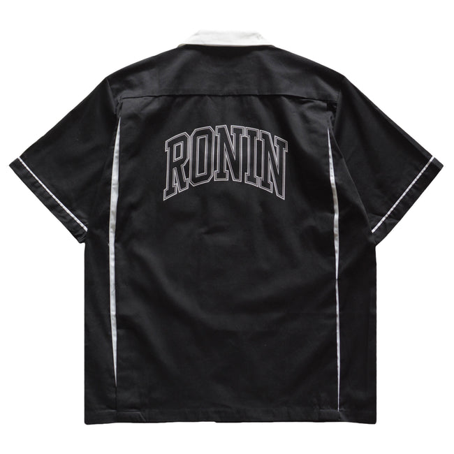 Arc Logo Bowling Shirt - Black