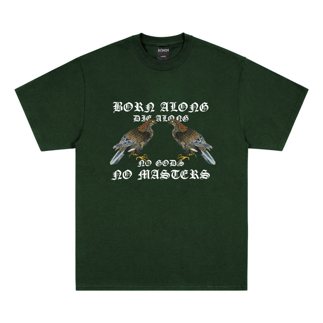 Born Alone Tee - Forest Green