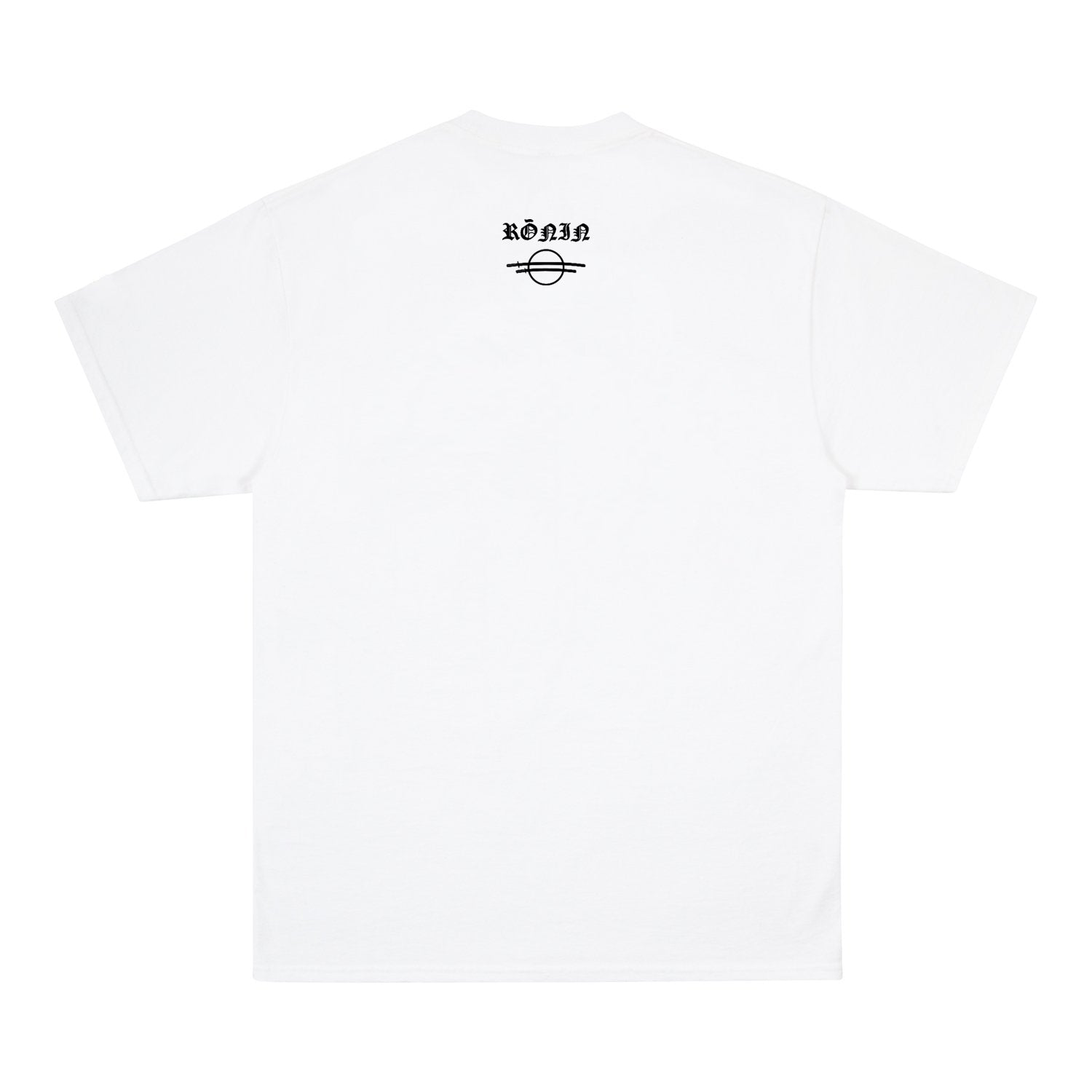 Born Alone Tee - White