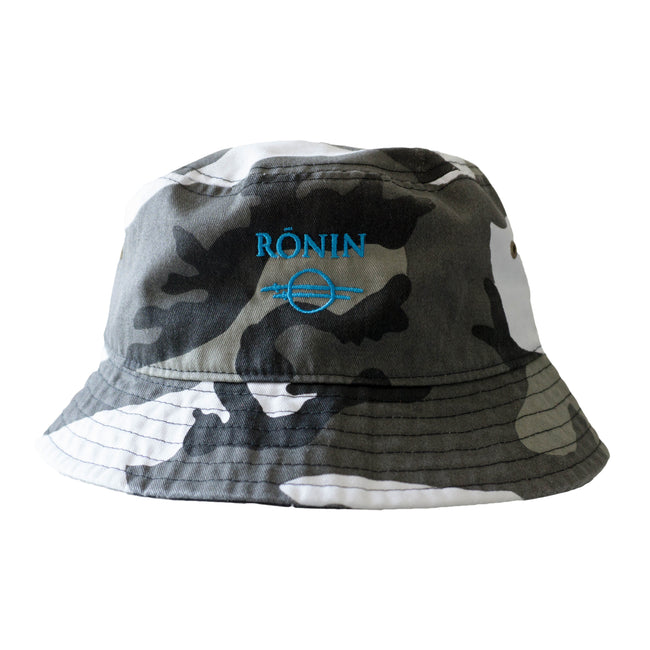 Logo Bucket Hat - Snow Camo