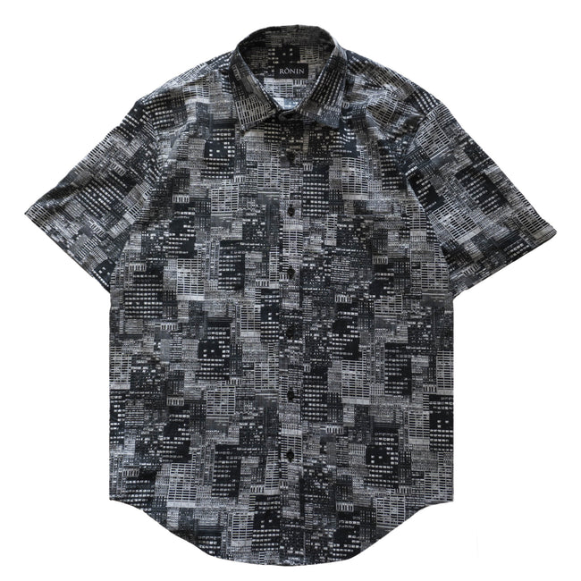 City Button Up - Black
