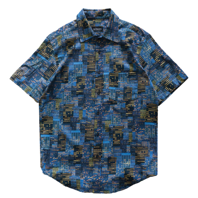 City Button Up - Blue