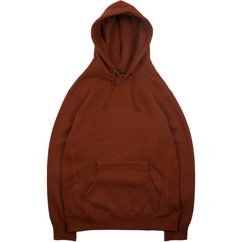 Tonal Embroidered Pullover - Cognac