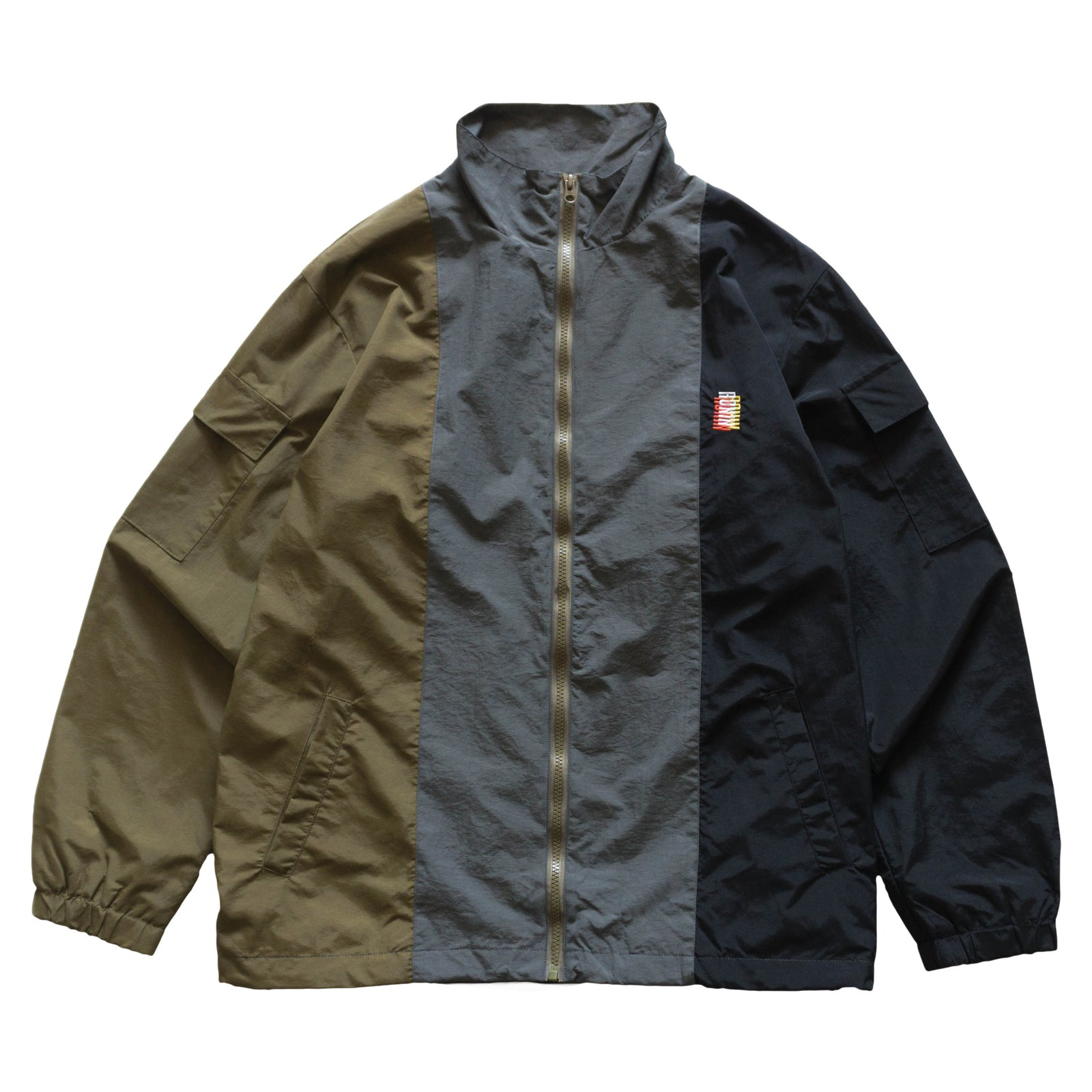 Commando Jacket v.2 - Olive | Grey | Black