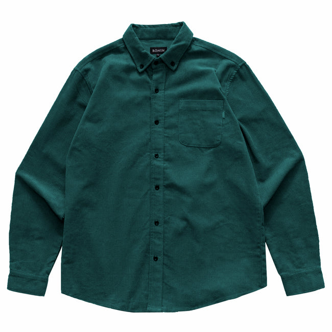 Corduroy Shirt - Emerald