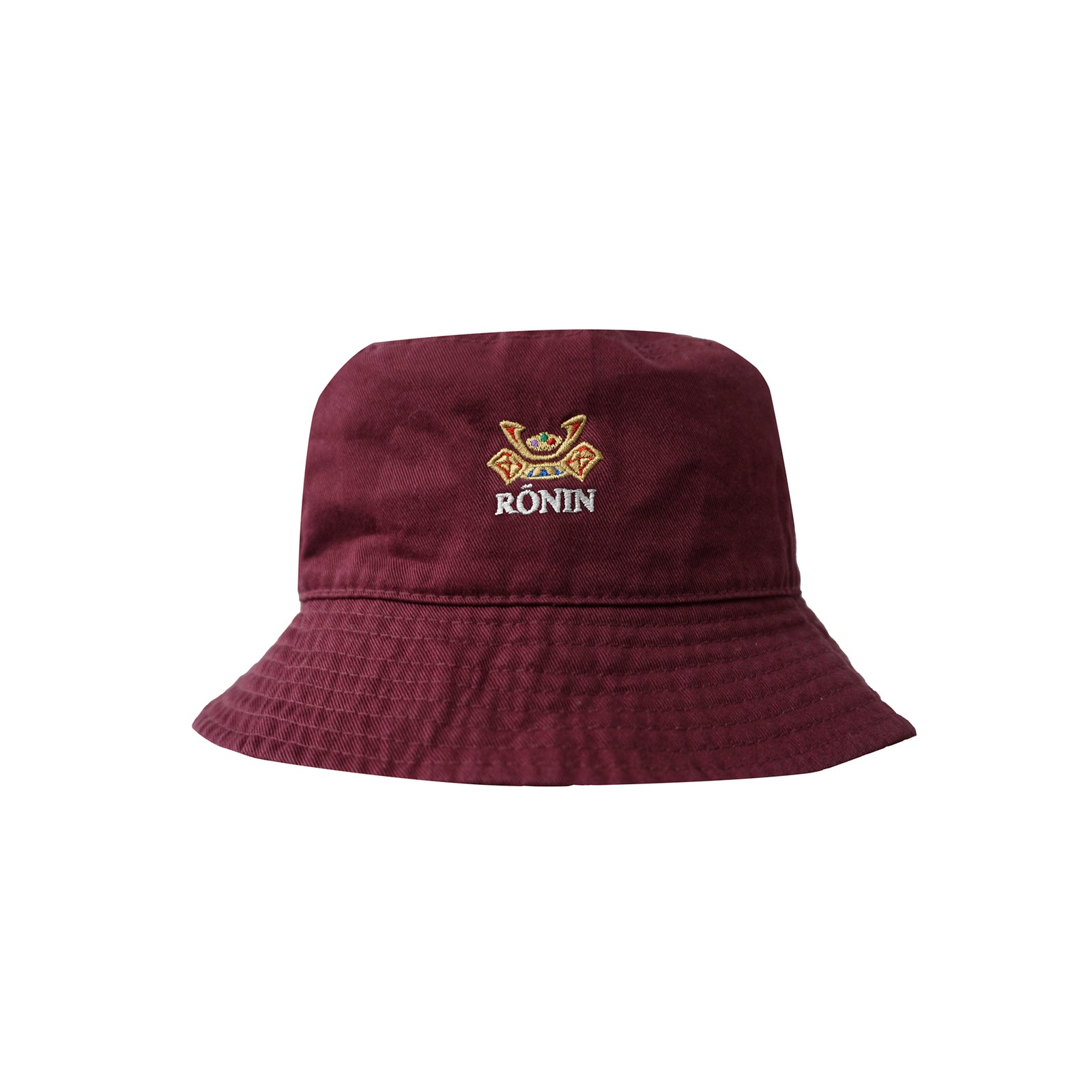 Crowns Bucket Hat - Burgundy