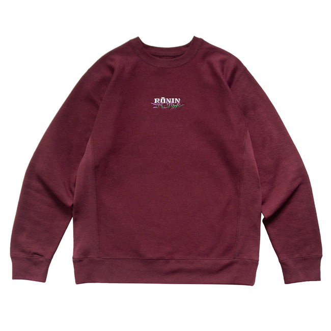 Unit Crewneck - Burgundy