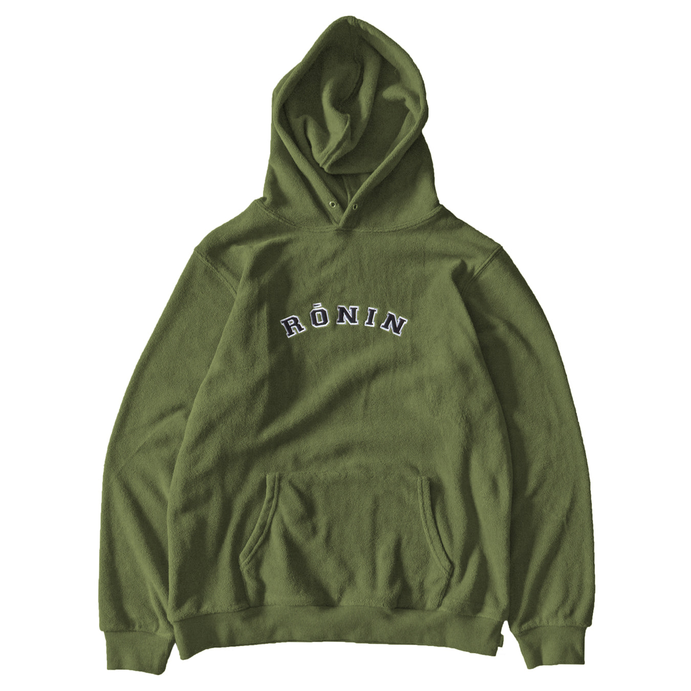 Tackle Twill Logo Fleece Hoodie - Olive
