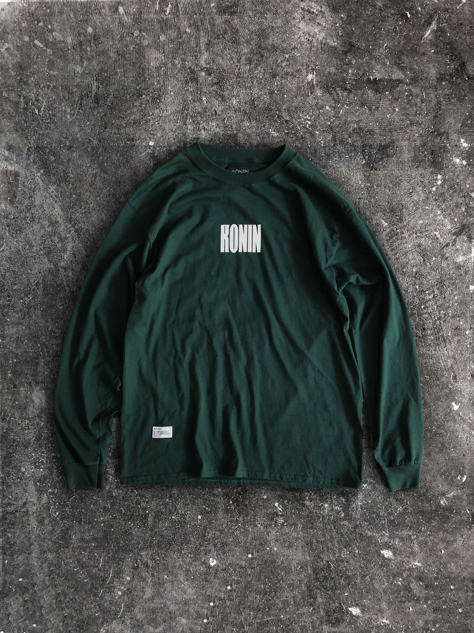 Untitled Long Sleeve- Forest Green
