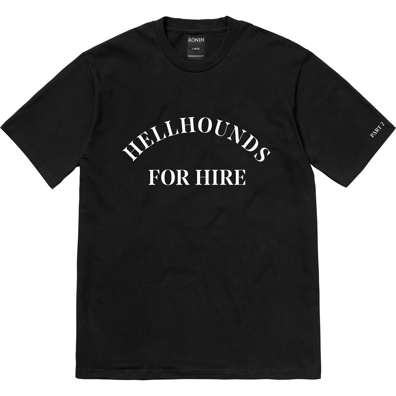 Hellhounds Part 2 Tee - Black