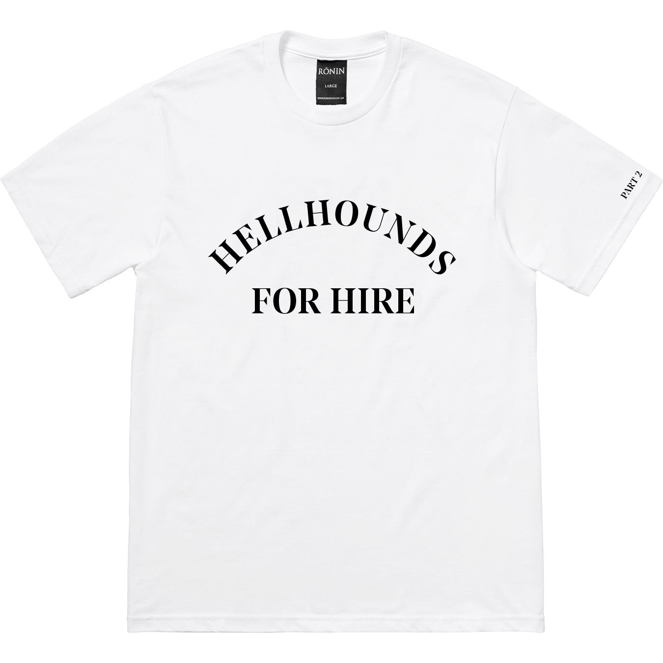 Hellhounds Part 2 Tee - White