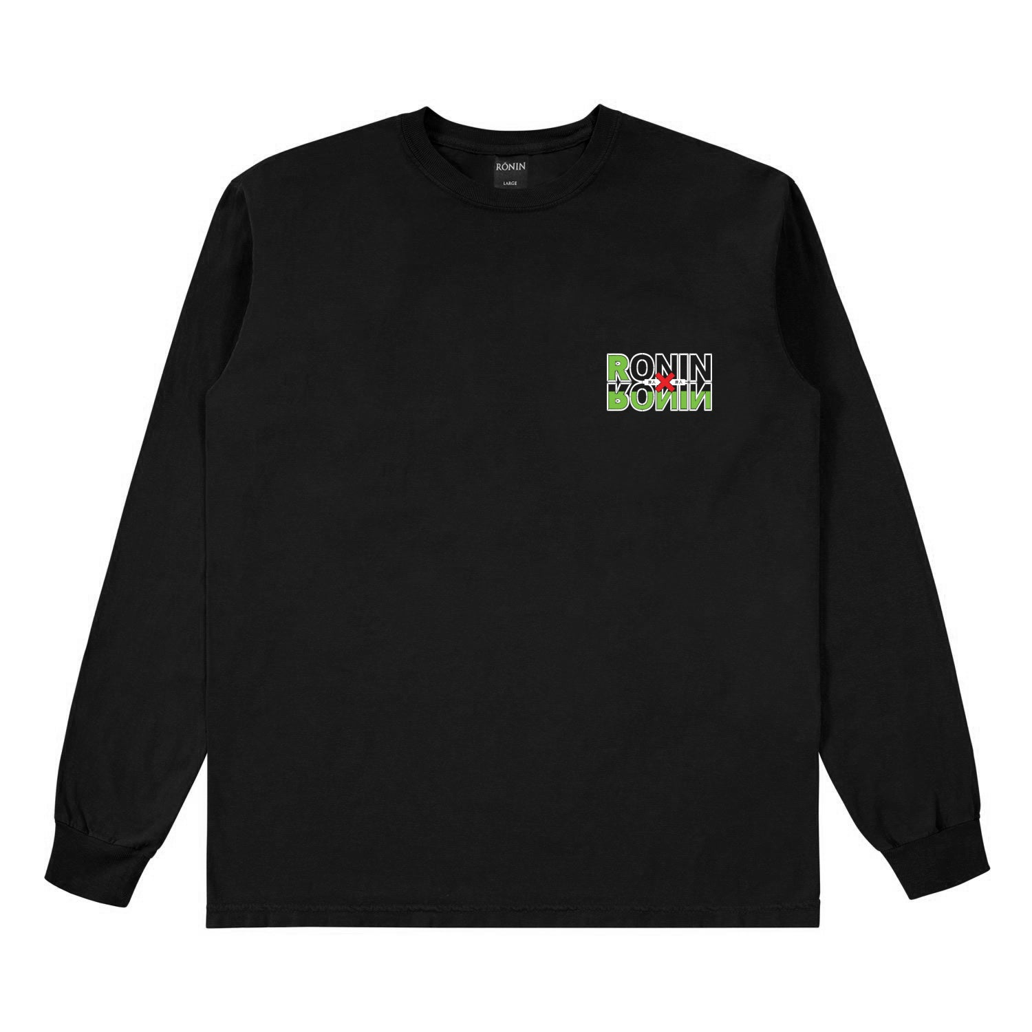 Hunter L/S - Black