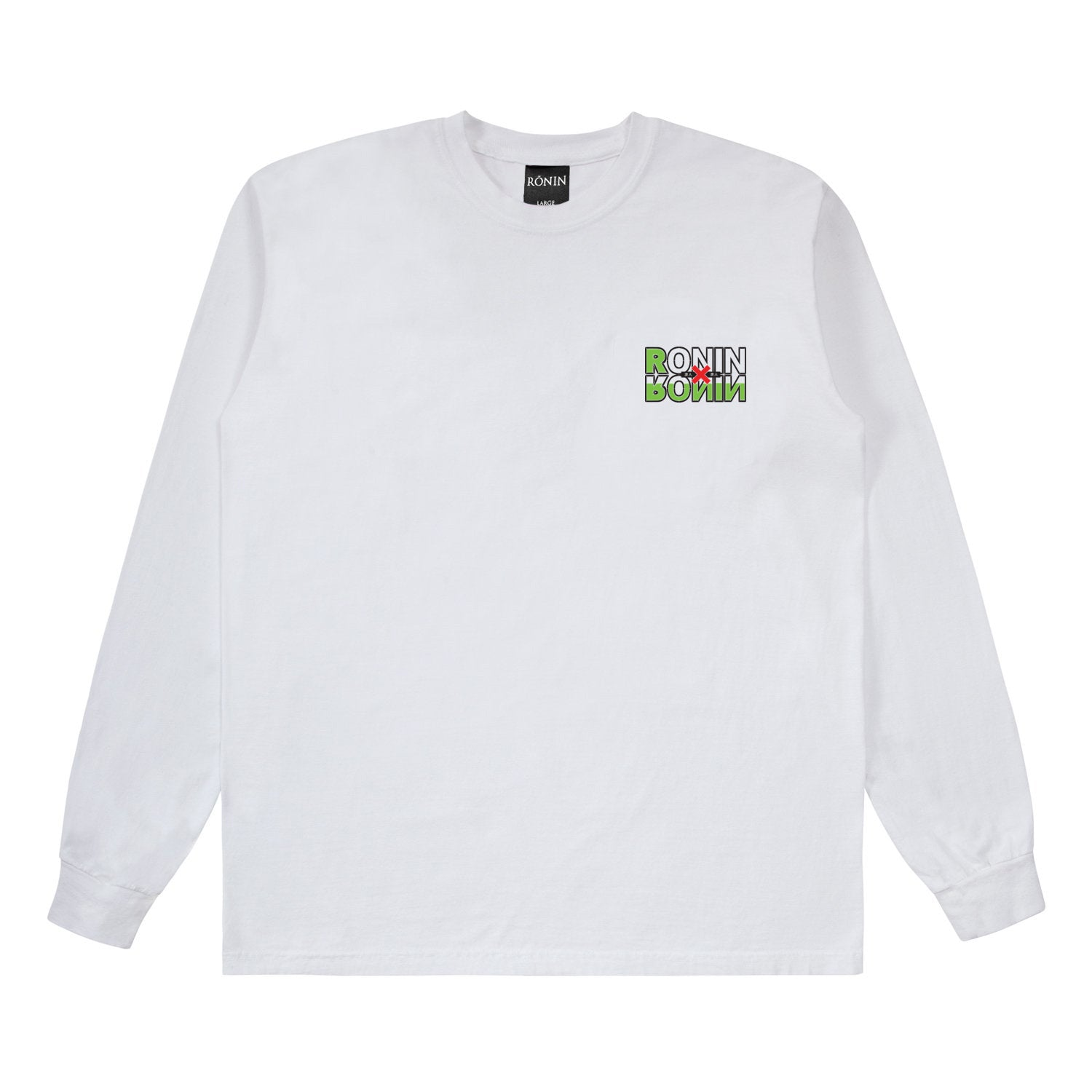 Hunter L/S - White