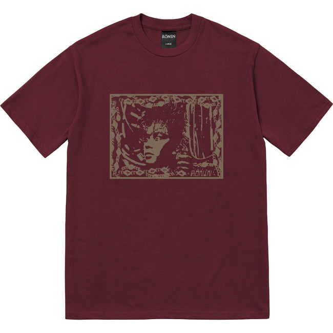 Iron Man Tee - Burgundy