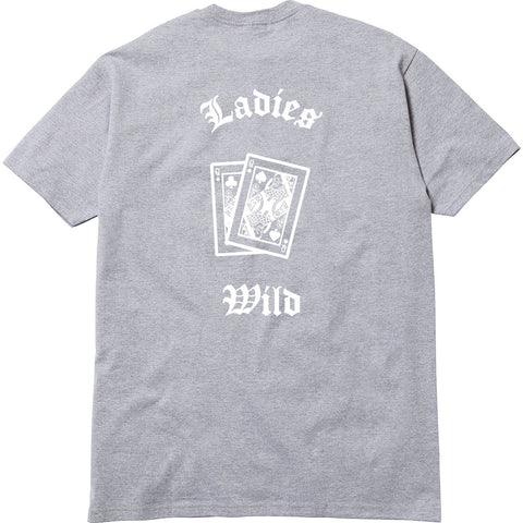 Ladies Wild Tee - Heather Grey