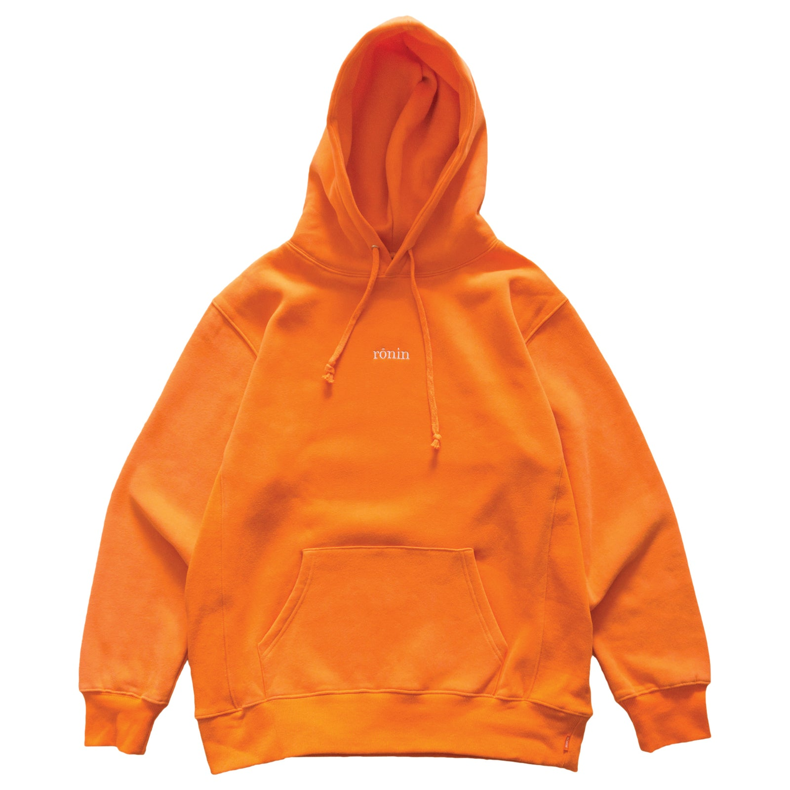Mini Logo Hoodie - Orange