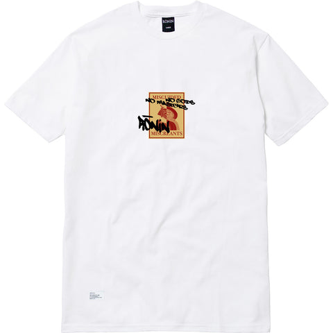Misguided Miscreants Tee - White