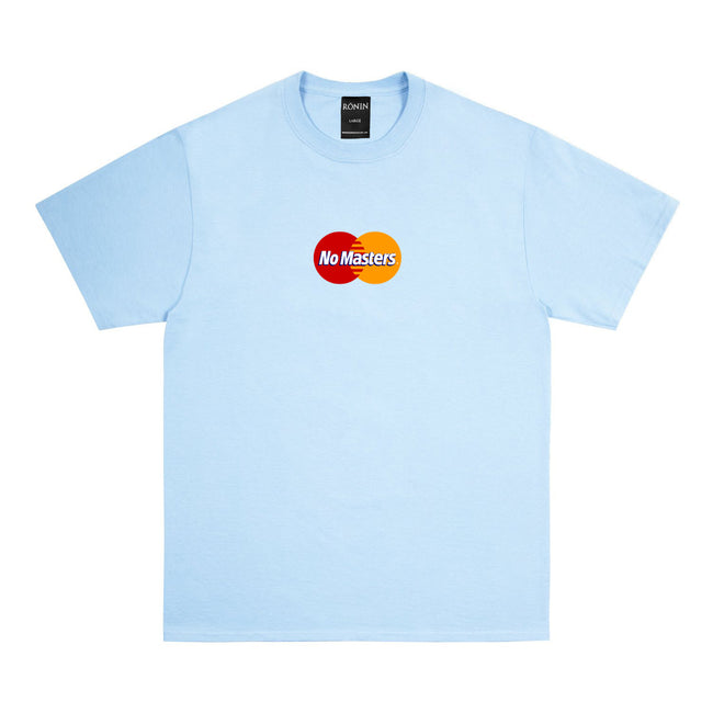 No Master Tee - Light Blue